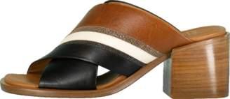 Brunello Cucinelli Tri-Tone Criss Cross City Heel