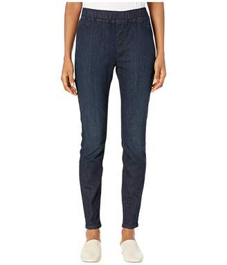 Eileen Fisher Organic Cotton Soft Stretch Denim Jegging in Utility Blue