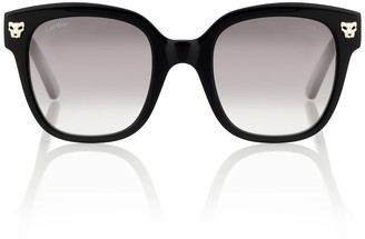 Cartier Eyewear Collection Panthere de square sunglasses