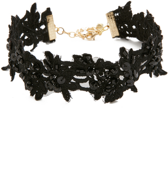 Vanessa Mooney The Lovetta Choker Necklace $43 thestylecure.com
