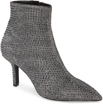 MICHAEL Michael Kors Katerina Embellished Glitter Bootie