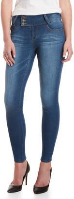YMI Jeanswear Extra Tab Mid-Rise Skinny Jeans