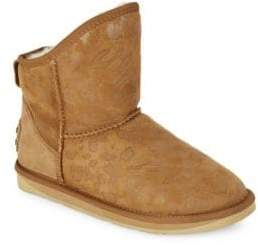 Australia Luxe Collective Cosy X Short Shearling Lined Suede Boots