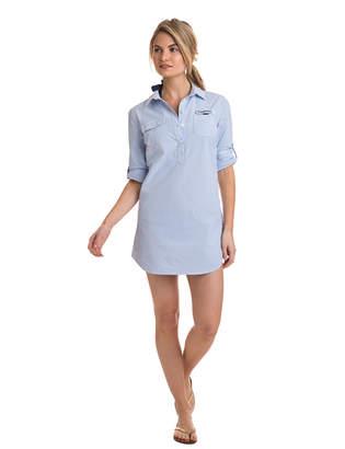 Vineyard Vines Seersucker Harbor Shirt Cover-Up