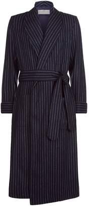 Daniel Hanson Stripe Wool Robe