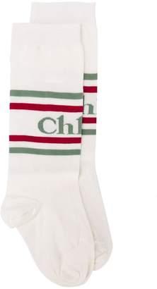Chloé logo mid-calf socks