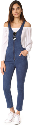 Free People Jax Overalls $128 thestylecure.com