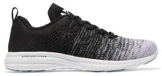 APL Athletic Propulsion Labs Techloom Pro Ombré Mesh Sneakers - Black