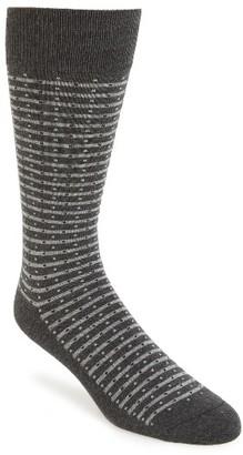 Men's Calibrate Stripe Socks $12.50 thestylecure.com