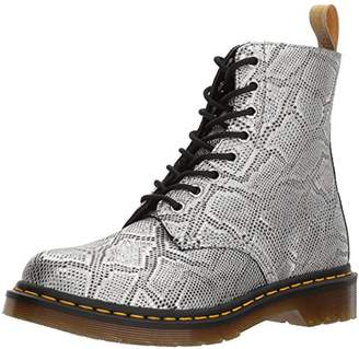 Dr. Martens Women's V Pascal MET Ankle Boots, Silver 040, 6 UK 39 EU