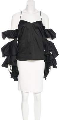 Ayesha Depala Ruffled Long Sleeve Blouse