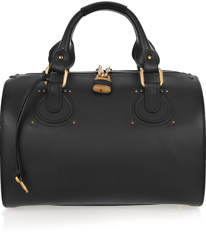 Chloé Aurore leather duffle bag