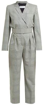 Max Mara Corone Jumpsuit - Womens - Black White