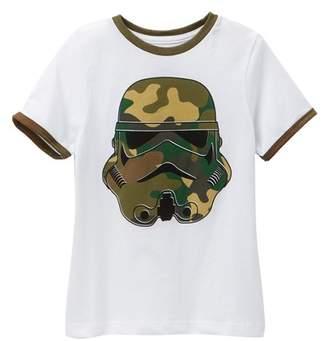 Mighty Fine Camo Trooper Face Tee (Little Boys)