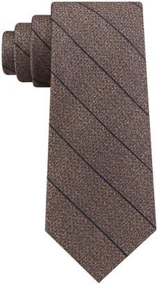 Calvin Klein Men's Seasonal Stripe Slim Silk Tie