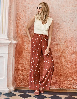 Carrick Wide Leg Trousers