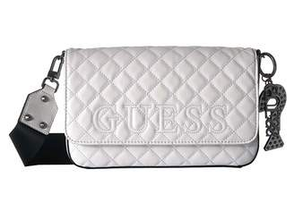 GUESS Status Crossbody Flap Cross Body Handbags