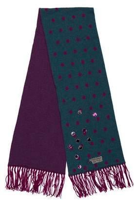 Chanel Embellished Scarf