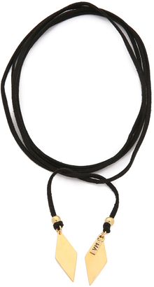 Vanessa Mooney Charm Wrap Necklace $48 thestylecure.com