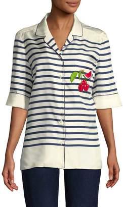 Dolce & Gabbana Women's Stripe Blouse