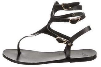 Ancient Greek Sandals Ponyhair Thong Sandals