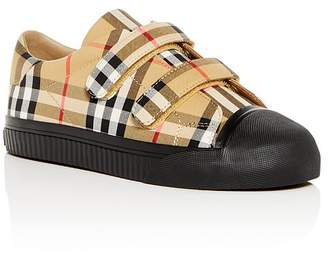 Burberry Unisex Vintage Check Sneakers - Toddler, Little Kid