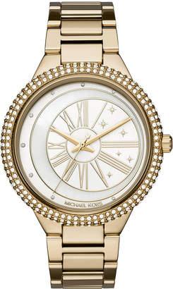 MICHAEL Michael Kors Taryn Celestial Yellow-Golden Bracelet Watch
