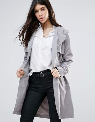 Brave Soul Belted Trench Coat $46 thestylecure.com