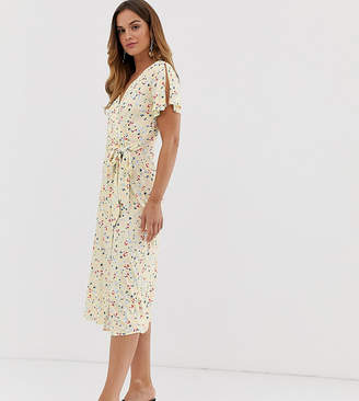 French Connection Roseau meadow midi dress