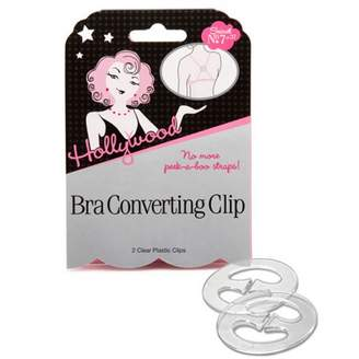Hollywood Fashion Secrets Bra Converting Clip, 2 Pack
