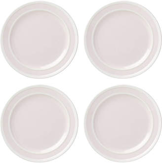 Kate Spade All in Good Taste 4-Pc. Sculpted Stripe Blush Dinner Plate Set