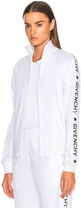 Givenchy Technical Neoprene Jersey Track Jacket