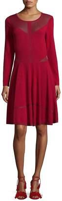 The Kooples Women's Long-Sleeve Shift Dress