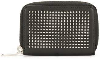 Saint Laurent studded zipped wallet