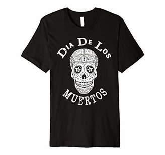 DAY Birger et Mikkelsen Sugar Skull Man With Sombrero T shirt Of The Dead Hallow