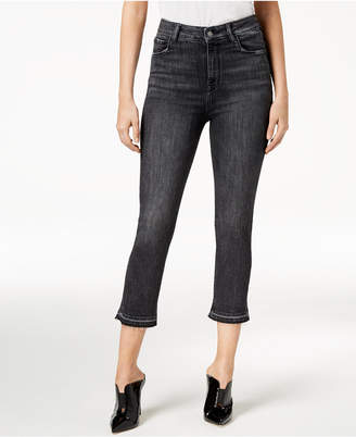 Audrey Straight-Leg Cropped Jeans