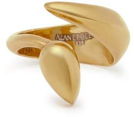 Alan Crocetti - Snake Shaped Gold Ring - Mens - Gold
