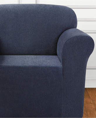 Sure Fit Ultimate Stretch Chenille One-Piece Chair Slipcover
