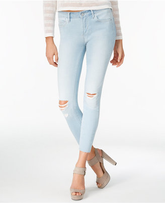 Articles of Society Carla Ripped Cropped Skinny Jeans $68 thestylecure.com