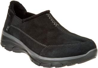 Skechers Faux Fur Slip On Shoes - Easy Going