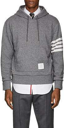 Thom Browne Men's Block-Striped Cashmere-Cotton Hoodie