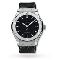 Hublot Classic Fusion Mens 38mm Titanium Automatic Watch