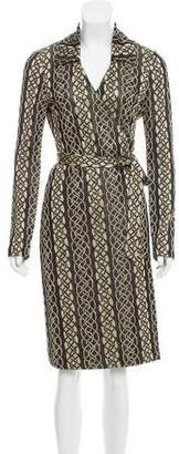 Diane von Furstenberg Brocadè Knee-Length Dress