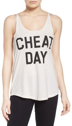 Women's Junk Food Cheat Day Lounge Tank $45 thestylecure.com