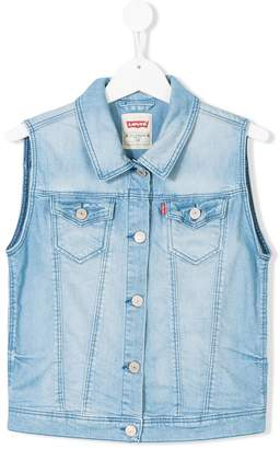 Levi's Kids TEEN denim vest