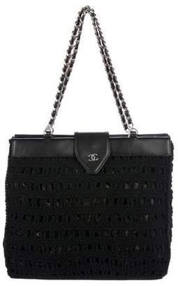 Chanel CC Crochet Tote