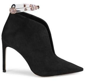 Sophia Webster Dina Point-Toe Ankle Booties