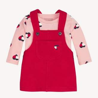 Tommy Hilfiger Baby Dungarees Dress Set