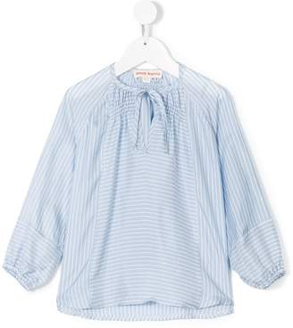 Anne Kurris tie-neck striped blouse