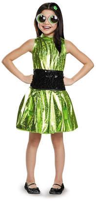 BuySeasons Powerpuff Little Girls Buttercup Deluxe Little Girls Costume